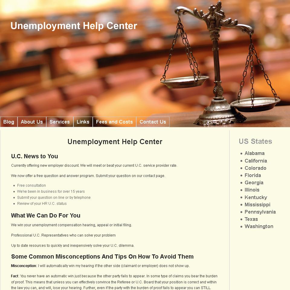 Unemployment Help Center [square]